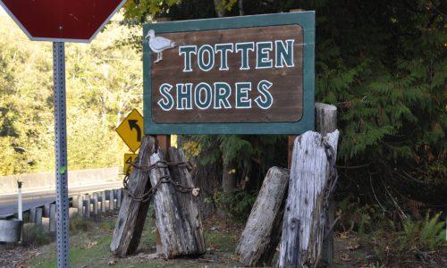 Entrance to Totten Shores