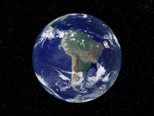 Terra vista desde o espaço