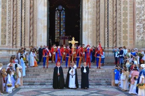 Cortejo histórico e solene de Orvieto