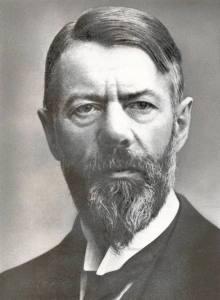 """Weber em seu livro intitulado """"A Ética protestante e o Espírito de capitalismo""""."""