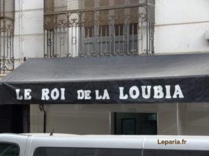 Rue de Manger-le-midi Le roi de la loubia