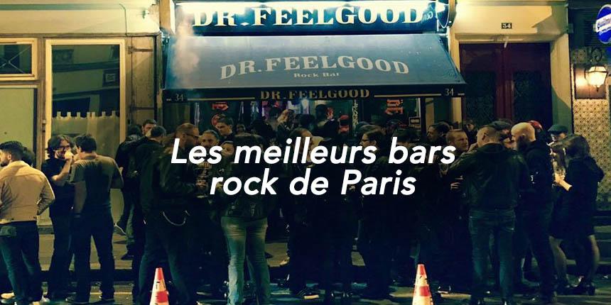 Les meilleurs bars rock de Paris