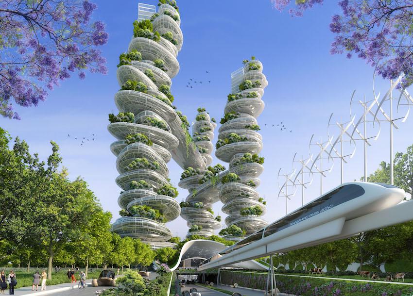 Paris en 2050 PORTE D'AUBERVILLIERS