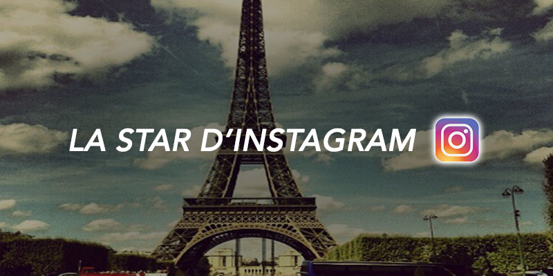 tour eiffel star d'instagram