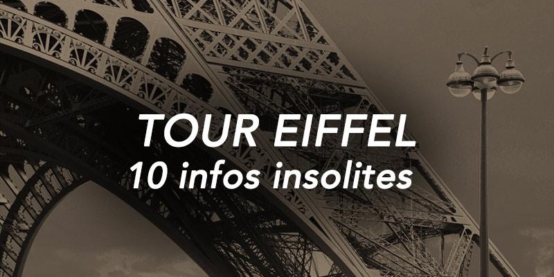 infos insolites sur la Tour Eiffel