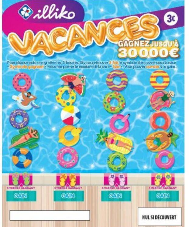 Code Promo Francaise Des Jeux : promo, francaise, Française, Lance, «Vacances»,, Nouveau, Ticket, Gratter, Parisien