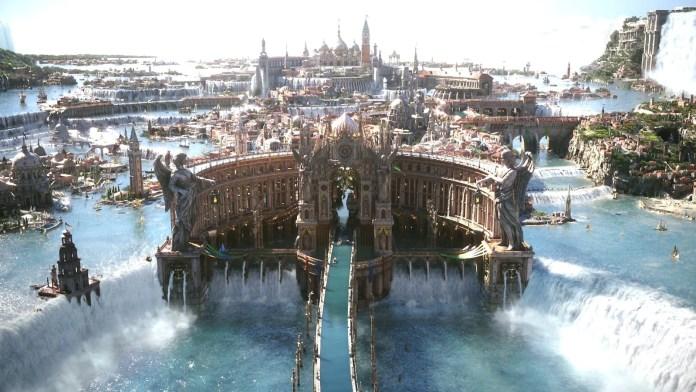 Final Fantasy 15 World of Eos Cover