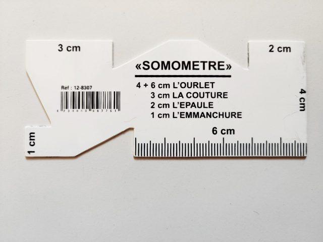 Le somomètre ajout des valeurs de couture