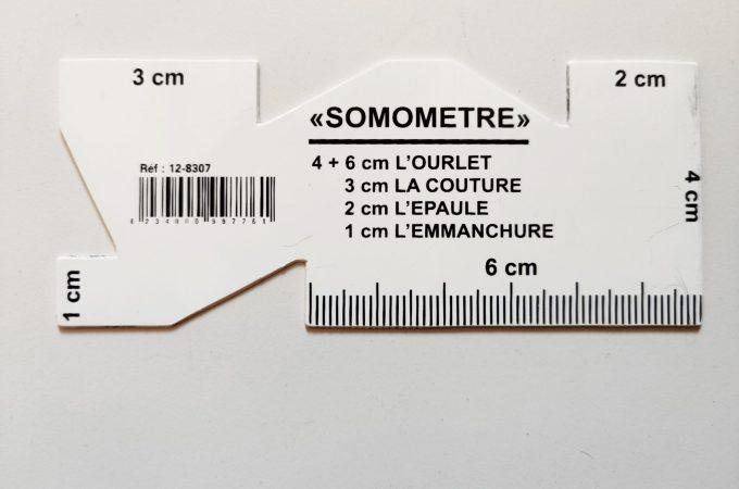 Le somomètre, l'ajout des valeurs de couture