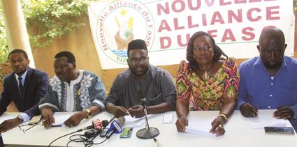 DJIBRILL BASSOLE EN RESIDENCE SURVEILLEE : La NAFA dénonce son isolement et sa séquestration