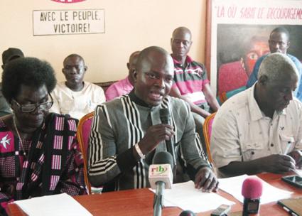 UNIR/PS  La fédération du Kadiogo demande la déchéance du député Alexandre Sankara