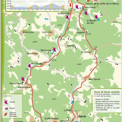 Les Arques 11,8 km 1 heure en moyenne