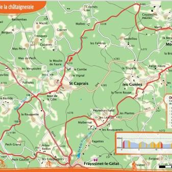 Montcléra 23 km 2,5 Stunden Schwierig