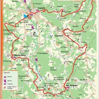 Cazals 25 Km 2.45 uur Moeilijk
