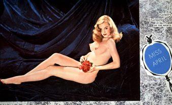 1954_04_Marilyn_Waltz_Playboy_Centerfold