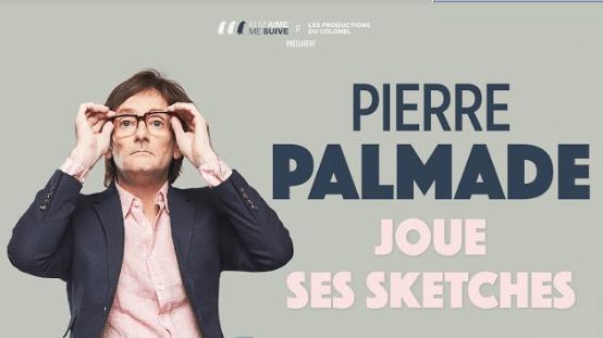 Pierre Palmade « joue ses sketches » les jeudi 9 avril à Arles et vendredi 10 avril à Nîmes