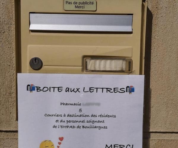 La boîte aux lettres de l'espoir