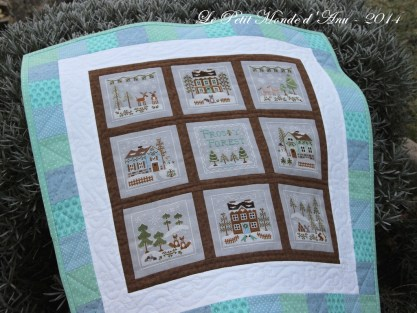 Frosty Forest quilt4