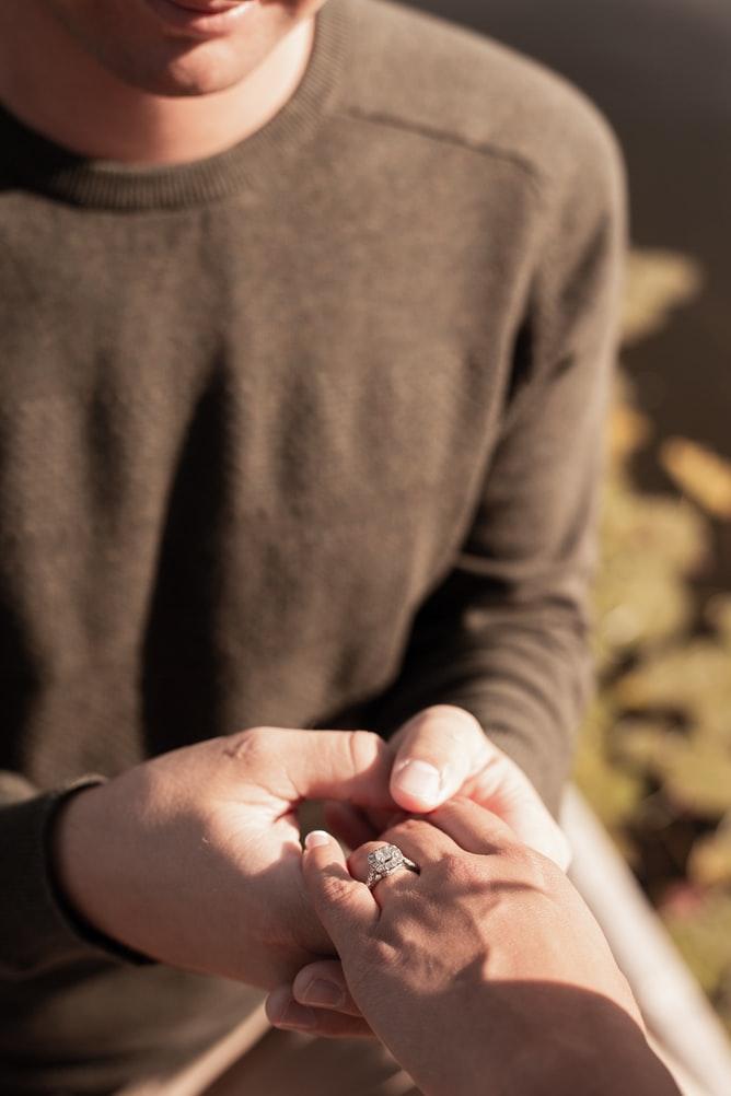 Le Petit O - fare la proposta di matrimonio