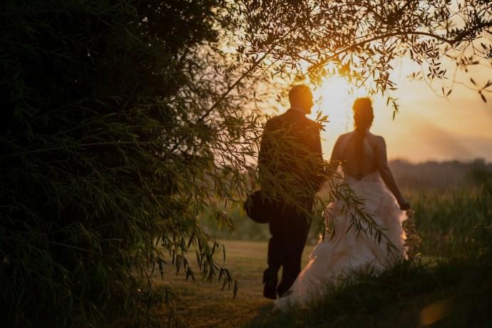 matrimonio rustico - gli sposi