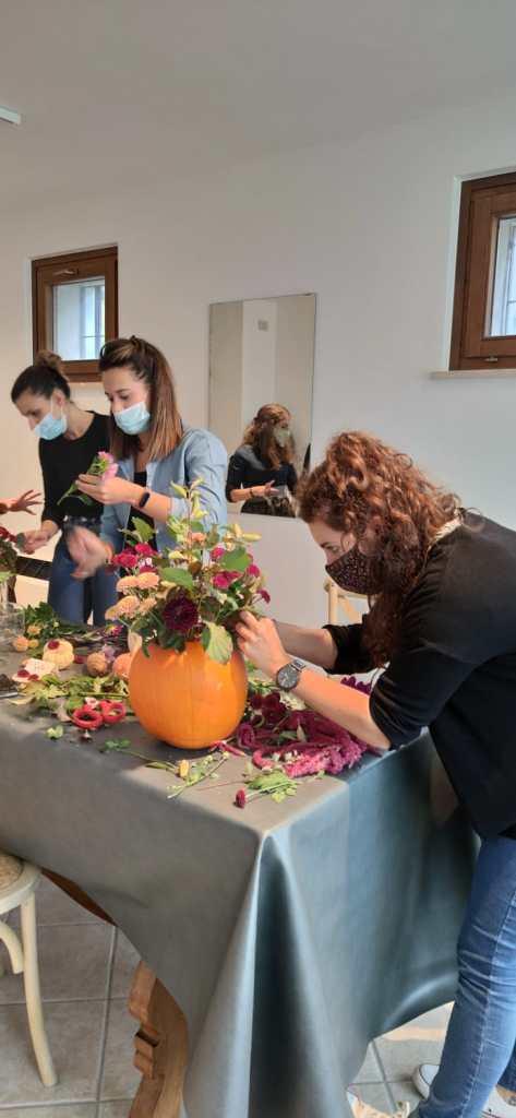 Workshop Le Petit O di Zucche Fiorite