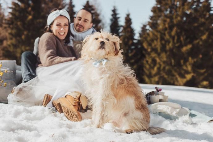 micro-wedding pastello Annie, Marco e Max