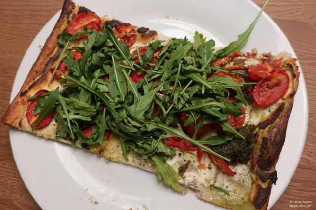 Plaattaart ricotta-tomaat (Le petit requin)