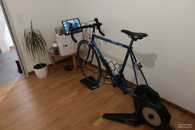 Tacx Flux S smart (Le petit requin)