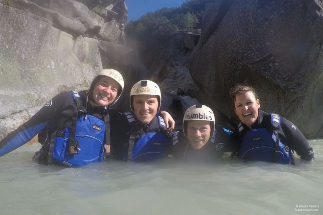 Canyoning Grimsel (Le petit requin)