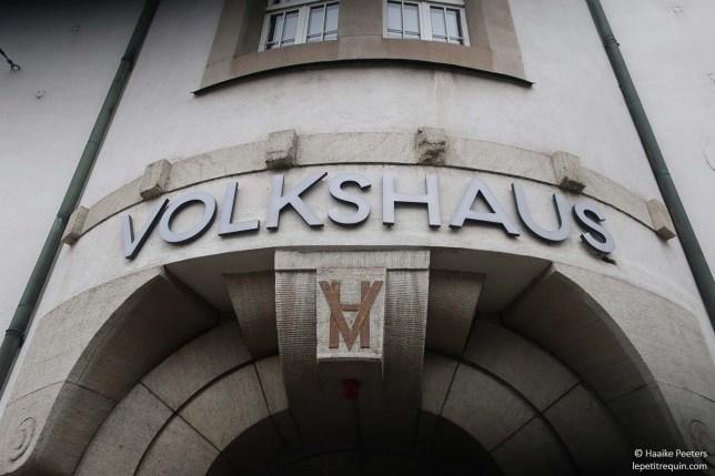 Volkshaus Zürich (Le petit requin)
