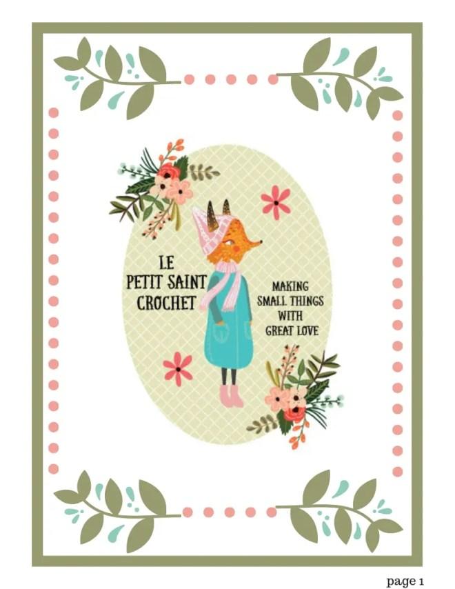 Teddy Bear Crochet Pattern - Princess Bernadette