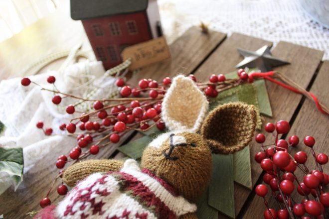 Knitted Bunny Giveaway on Instagram