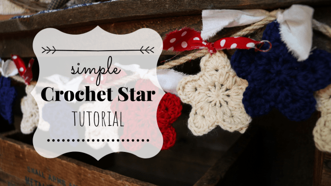 Simple crochet star