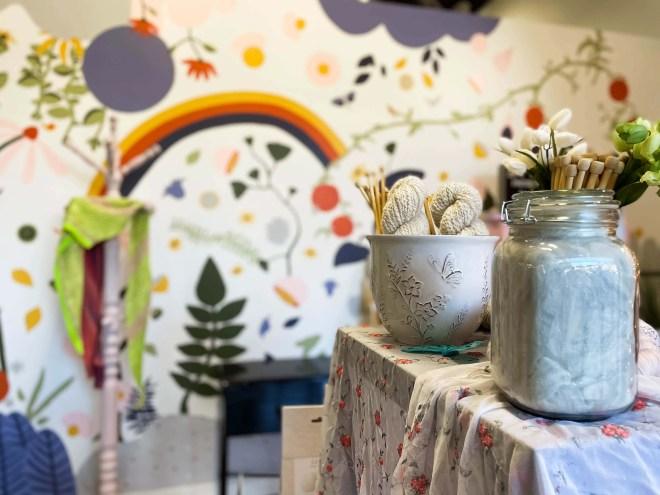 local yarn shop, Hearts on Fiber
