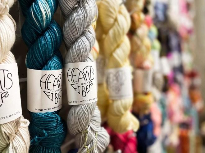 Local yarn shop virtual tour