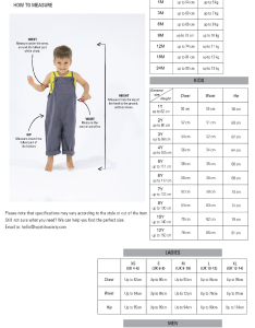 wrapping also size guide for babies  kids baby clothes asia from party rh lepetitsociety