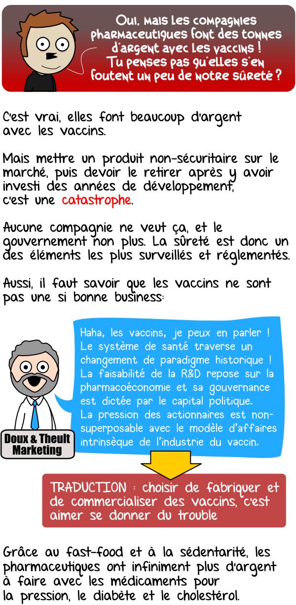 vaccins argent profit compagnies pharmaceutiques