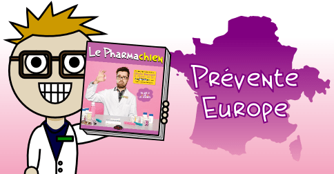Pharmachien_livre_fb_Europe_be_prevente
