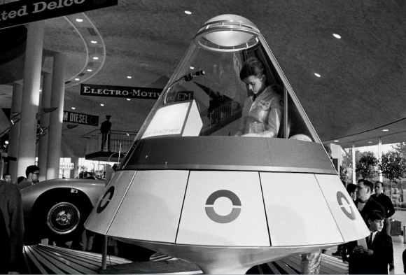 soucoupe volante à la foire internationale de New York en 1964