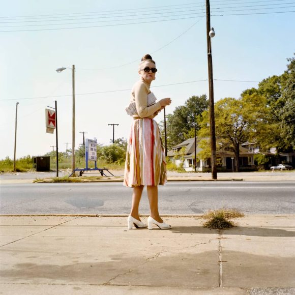 William Eggleston livre 2 1/4 vieille femme