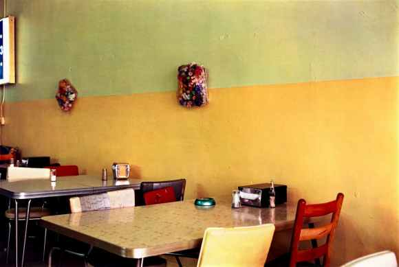 William Eggleston livre Election Eve restaurant