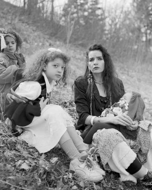 © Alec Soth : une mère et ses enfants dans un parc
