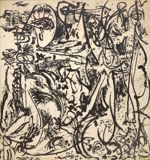Jackson Pollock - Echo number 25 - 1951
