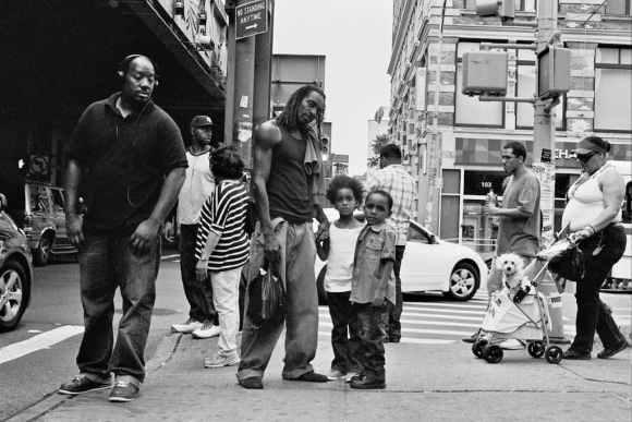 Photo de Khalik Allah : une scène de rue