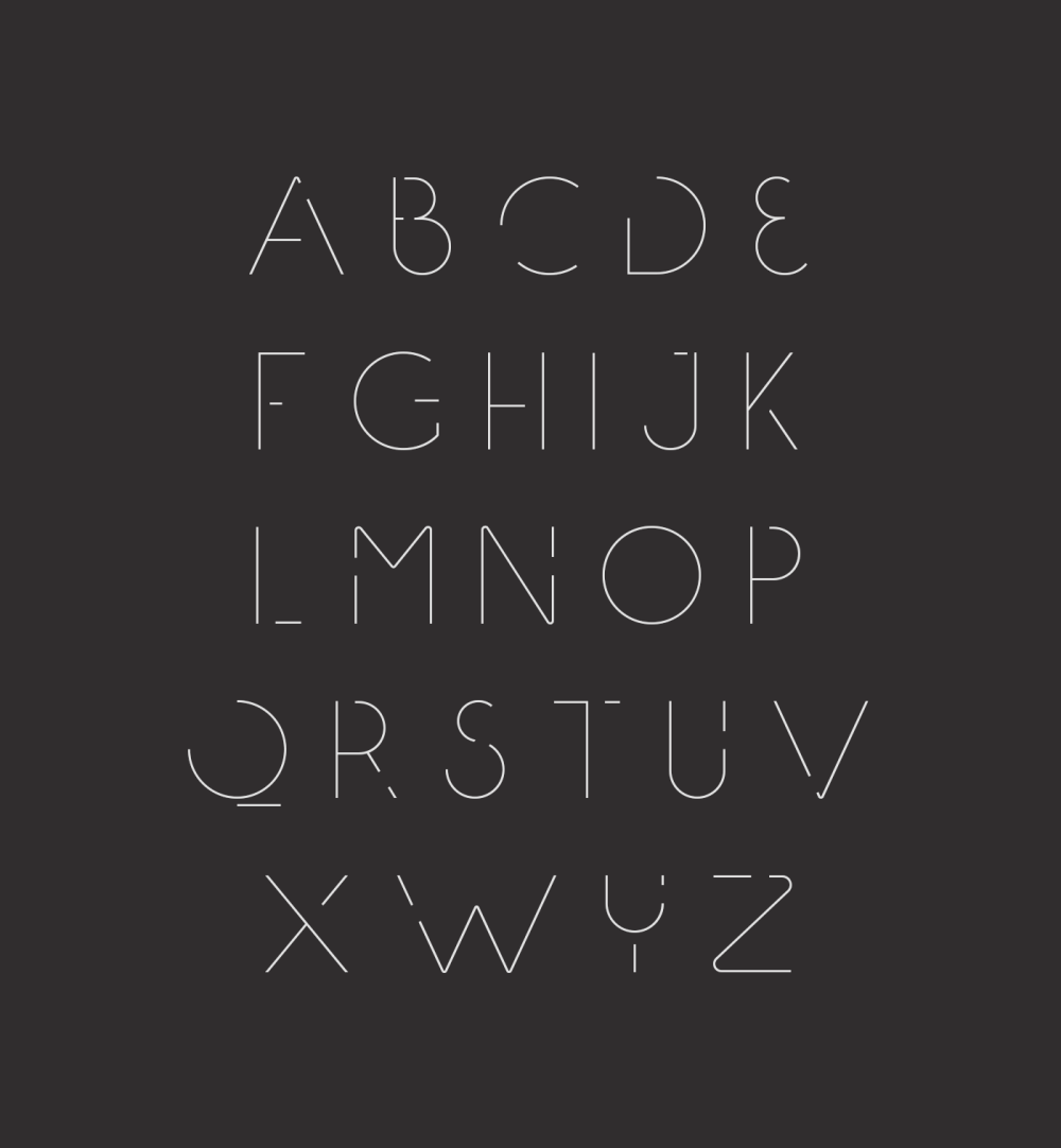 Speck Display - free typeface uppercase