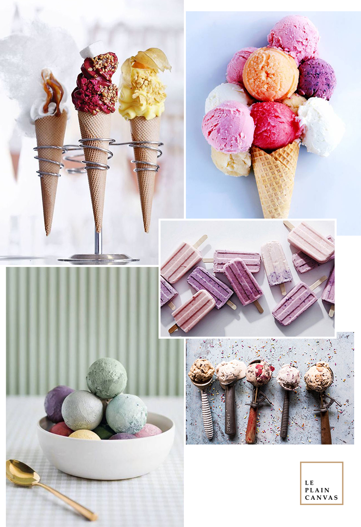 Mood Board | Ice Cream Month