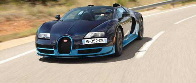 Bugatti Veyron 164 Grand Sport Vitesse  Elle Peut Le