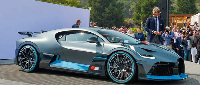 Bugatti Divo  Peuton Rêver D'une Voiture à 6 Millions D