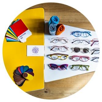 Une sélection de lunettes originales chaque saison au Point de Vue d'Alice