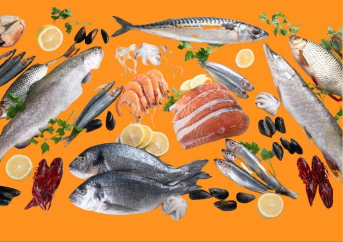 Les poissons et crustacés sont excellents pour booster la vue